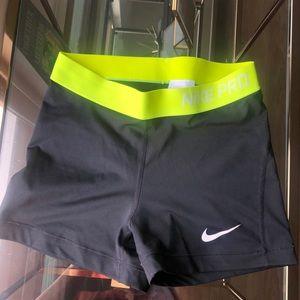 Women's Nike Pro Training Shorts - Size M